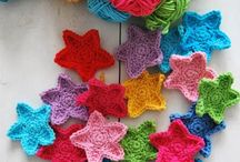 Crochet Flowers, Leaves, Snowflakes / Crochet flowers, leaves, snowflakes, hearts, stars, and other shapes. Patterns and tutorials.