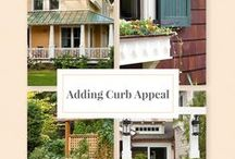 Musings on Curb Appeal / outside curb appeal