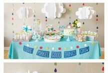 Baby Shower Ideas / Find inspiration for your celebration with baby shower decorations and party ideas including baby shower games, cake ideas, party themes, and favors.