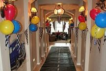 Birthday Party Decorations & Ideas / Find inspiration for your birthday with this collection of birthday party decorations. Discover kids birthday ideas, adult party themes, food inspiration, decorations, and much more.