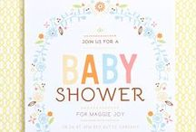 Baby Shower Invitations / Discover baby shower invitations and theme ideas for your upcoming Sprinkle of Baby Shower party.