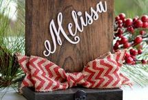 Christmas Gifts and DIY Craft Ideas / Find inspiration for your Christmas gift list this year and fun activities to do with the kiddos.  Browse from tons of DIY craft ideas and personalized Christmas gifts.