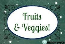 Produce! Produce! Everywhere! / Fruits and vegetables, side dishes, meals, treats and snacks. Great recipes for the produce in your fridge or cold room.