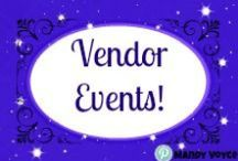Direct Sales - Vendor Markets and Events / Vendor Events, Expos, Fairs, Sales Events? Ideas to make it easier for you to tackle them. No matter what your goal for the event is!
