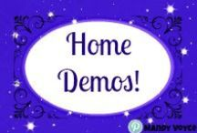 Direct Sales - Home Demos / Party, Demo, Girls Night whatever you call it you want tomake sure the guests have fun and you can gt the most sales possible for your host!! Check out these tip, tricks and trainings for info to help you rock your home parties!