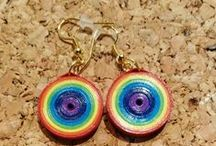 Quilled earrings / the results of my quilling passion