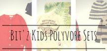Bit'zKids Polyvore Sets / Our best styling for Boys Clothes and Girls clothes! Find some great kids clothing inspiration here!