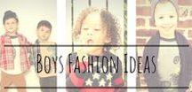 Boys Fashion Ideas / Fashion inspiration for cute boys outfits.