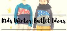 Kids Winter Outfit Ideas / Staying warm and stylish in the snow for your little one.
