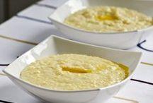 НА ЗАВТРАК / Рецепты блюд для завтрака на русском и английском языке. Каши, блины, оладьи, сырники, блюда из яиц, молока, творога.