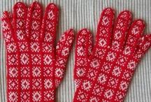 Knitting : gloves
