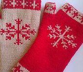 Knitting : fingerless gloves