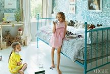 Bedrooms - Kids / Collection of ideas for creative kids rooms that I like. I hate the way most people decorate their children's rooms in either blue or pink, there are so many other more beautiful colours, why limit your imagination?  / by JMK