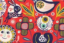 Graphic Design : illustrations/patterns