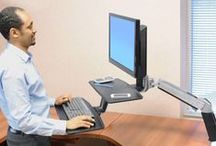 Sit 2 Stand Desk Converters / by Ergoprise Ergonomics