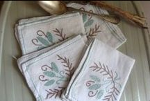 French Homewares, French Linens and French Fabrics / Vintage Fabrics and French Linens