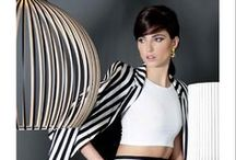 On #Trend: Black and White / It's classic, it's chic, it's right here in #blackandwhite
