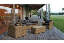 #arredo #giardino #garden #furniture #rattan #home / Arredo giardino in rattan sintetico. Design moderno per mobili da esterno di ottima qualità.