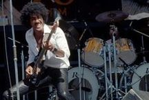 """Phil Lynott & Thin Lizzy / The poet, the singer, the bass man, the family man, and above all """"The Rocker"""" ."""