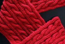 Knitting : scarves / shawls / cowls