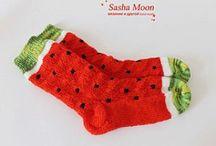 Knitting : socks