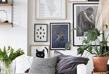 H O M E// gallery wall