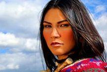 >>> NATIVE female models / Indigenous female fashion and glamour models. Curated by Founding Editor Lisa Charleyboy (aka @UrbanNativeGirl). / by Urban Native Magazine