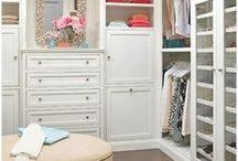 H O M E // closet