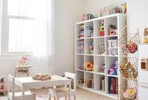H O M E // playroom