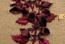 Ribbonwork / Ribbon embroidery