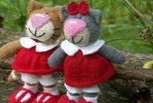 Knitting / Crochet : toys