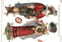 Dolls : paper dolls