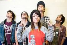 We Are The In Crowd / Taylor Jardine, Jordan Eckes, Robert Chianelli, Cameron Hurley, Mike Ferri  / by Rianne Scholte