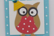 SU owl punch / Stampin'up owl punch