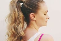 WORKOUT BARBIE / Effortless beauty for our gym babes  #workout