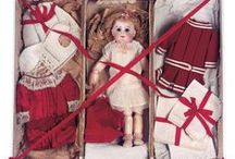 Dolls : in boxes