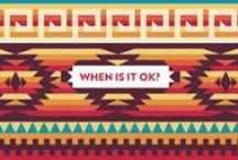 >>> NATIVE appropriations / Cultural appropriation. Some are offensive, some are strange, and some are just ... kinda funny. Curated by Founding Editor Lisa Charleyboy (aka Urban Native Girl). / by Urban Native Magazine