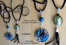 Unique handmade jewelry designs jofasgion-blogger / Unique handmade jewelry designs made by Ioanna Dimitriou