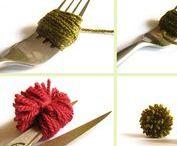 Crafts : pompoms