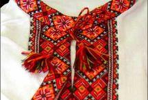 Bunad : shirts / aprons / head pieces