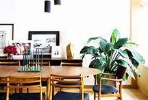H O M E // dining room