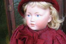 Dolls : german / painted eyes