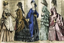 Victorian Fashion from 1870s-1890s / This is the time period we interpret at the Mansion...such a fascinating era in fashion history.