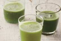 Green Juices / Some call them the Green Goddess and it's not hard to see why. Once you start green juicing you too will feel like a goddess.