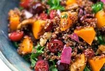 Quinoa Recipes / Recipes using the world's most versatile grain, Quinoa.