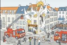 Thema: Brandweer (kleuters) / Lesideeën voor het thema brandweer.