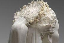 Wedding Dresses, Veils, Headdressses in Detail