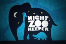 Night Zookeeper Design / Examples of design work by children's website Night Zookeeper