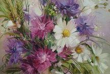 schilderen bloemen/natuur