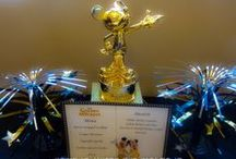 Golden Mickey Party / Here are all the posts and the inspiration we used to create our #DisneySide @ Home Celebration.